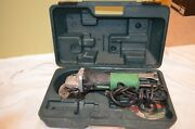 Hitachi G12sr4 6.2-amp 4-1/2-inch Angle Grinder With Wheels And Hard Case