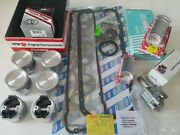 Engine Rebuild Kit Fits Datsun 280z 8/76-78 Pistons And Rings - G/set, Brgs. O/p