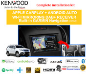 Kenwood Dnx9180dabs For Isuzu Mux 2012-2018 Car Stereo Upgrade Kit No Dc