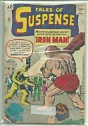 Marvel Lot Tales Of Suspense 40 1st Gold Armor 2nd Iron-man Plus 41 Coverless
