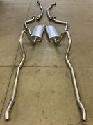 1971 Plymouth Fury Suburban Dual Exhaust Aluminized 440 Except High Performance