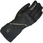 Fly Racing Ignitor Pro Heated Street Motorcycle Gloves - Black - Choose Size
