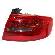 13-16 A4/a4 Quattro/s4 Outer Taillight Taillamp Led Brake Light Lamp Right Side
