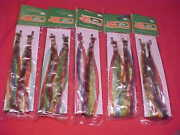 5 Sets Vintage Bicycle Streamers Glitter Red Green Blue Schwinn Huffy Murray Nos
