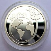 Greece 6 Euro 2017 Silver Coin Proof Year Of Sustainable Tourism For Development