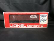 Lionel Standard O Gauge 6-9806 Rock Island Boxcar Route Of Rockets New In Box