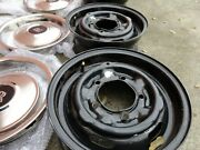 Used Rolls Royce Wheel Set With Oem Beauty Rings And Center Caps