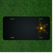 Custom Personalized License Plate With Add Names To Christmas Star X-mas Xmas