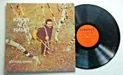 Do You Know My Name Brother Juniper Rejoice Records Cslp 1002 Xian Folk Psych
