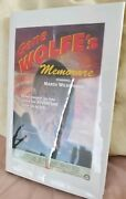 Very Rare Memorare - Gene Wolfe. Only 500 Ever Printed In Any Form. Signed 419