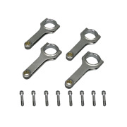 Cxracing H-beam Connecting Rods And Bolts For Mitsubishi 4g15 Engine