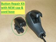 Volvo Gear Selector Shifter Shift Knob Button W/ Pin Repair Replacement 8698157