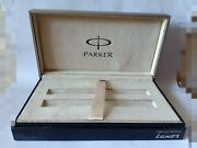 Parker Pens Box Fountain Pen, Roller Ball, Ballpoint Pen Used In Good Condition