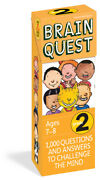Brain Quest Grade 2 1,000 Questions And Answers To Challenge The Mind