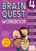 Brain Quest Workbook Grade 4 [with Over 150 Stickers And Mini-card Deck An...