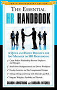 The Essential Hr Handbook A Quick And Handy Resource For Any Manager Or Hr...