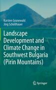 Landscape Development And Climate Change In Southwest Bulgaria Pirin Mount...