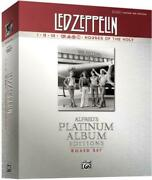 Led Zeppelin Authentic Guitar Tab Edition Boxed Set Alfred's Platinum Albu...