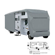Dynamax Isata 5 35dbd Deluxe 4-layer Class C Rv Motorhome Camper Cover