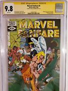 Marvel Fanfare 4 Cgc 9.8 1982 Signed By Chris Claremont Paul Smith Cover Art