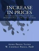 Increase In Prices Some Descendants Of David And Agnes Hoffmann Price Of...