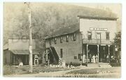 Rppc Post Office General Store Sizerville Pa Cameron County Real Photo Postcard