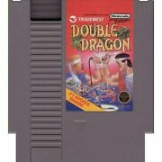 Double Dragon For Old School Nintendo Nes Video Game System Authentic Tested