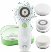 Cleansing Brush 2 Speed Set Waterproof Electric Facial Women Face Messager