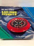 Electro Roulette Game Vintage New