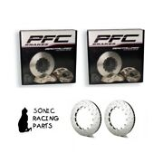 405.34.0065.451 + 461 Pfc V3 Replacement 405 Discs For Nissan R35 Gt-r 2008 2011
