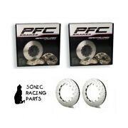 376.34.0064.451 + 461 Pfc V3 Replacement 376 Discs For Nissan R35 Gt-r 2008 2011