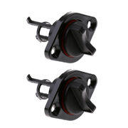 2pcs Boat Marine Beach Cooler Livewell Nylon Drain Plug 1 Screw In With