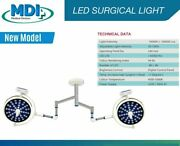Lamp Surgical Operating Double Satellite Ceiling Ot Light Operation Theater Mdi
