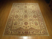7 X 9 Fine Quality Hand Knotted Afghan Sultanabad Rug_veggie Dyes Hand Spun Wool
