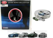 Corgi 1/64 Scale Ty95903 James Bond Collection 007 Film Canister 4 Cars Gift Set