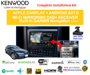 Kenwood Dnx9190dabs For Holden Commodore International Single Zone Ve 2007-2010