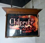 1930s Double-sided English Outdoor Advertising Sign