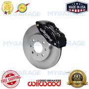 Wilwood Dpha Front Caliper And Rotor Kit Red For Honda / Acura 140-12996