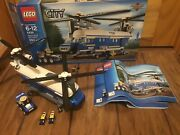 Lego City 4439 Heavy-duty Helicopter Complete