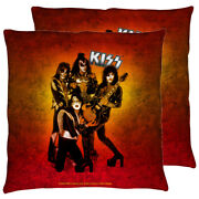 Kiss Fire Pose Double Sided Throw Or Body Pillow