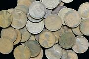 1924 P 50 Count Roll Of Lincoln Wheat Pennies No Culls