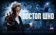 Doctor Who The Complete Peter Capaldi Years Collection 12th Dr.14 Blu-ray New