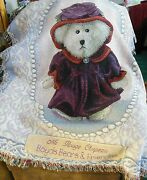 Boyd's Bears And Friends - Ms Rouge Chapeau Tapestry/throw Blanket