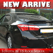 Unpainted Fit For Toyota Corolla Altis 11th Rear Roof Spoiler 1418 4d Eur Model