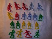 Vintage Lot Of 20 Timmee Plastic Baseball Players 2.5 60mm No Breaks