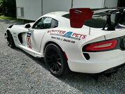 Dodge Viper Acr Extreme Wing End Plate Decals 2016-2018 - Many Colors