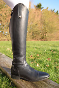 Mark Todd Sport Competition Field Boot Leather Foot Strech Leg Black/brown 36-45