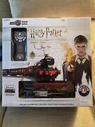 Collectible Harry Potter Lionel Set And Bradford Exchange Hogwarts Clock W/ Wand