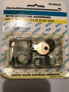 Sierra Marine Cam Lock Made In Usa 5/8 Depth Lockers Hatches And Drawers Cl49310