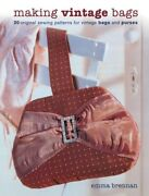 Making Vintage Bags 20 Original Sewing Patterns For Vintage Bags And Purse...